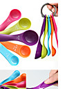 Colorful 5PCS Kitchen Measuring Spoons Measuring Cups Spoon Cup Baking Utensil Set Kit Measuring Tools