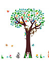 Животные / ботанический / Мультипликация / Романтика / Мода / Праздник / Пейзаж / Геометрия / фантазия Наклейки Простые наклейки,PVC135cm