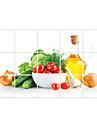 ботанический / 3D Наклейки Простые наклейки,pvc 45*75cm