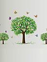Животные / ботанический / Романтика / Натюрморт / Мода / Цветы / Отдых Наклейки Простые наклейки,PVC 90*60*0.1