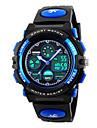 Skmei® Children Dual Time Zones LED Digital Sports Wrist Watch PU Strap Assorted Colors Kids\'Strap Watch