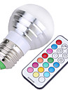 YWXLight E27 Dimmable RGBW Lamp Led Bulbs 5W Colorful RGB Bulb 85-265V Chandeliers Led Light + IR Remote Controller