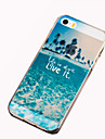 For iPhone 5 Case Pattern Case Back Cover Case Scenery Soft TPU iPhone SE/5s/5
