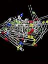 Ланда Tianrui TM-поделки 3мм привело светоизлучающий диод набор (5 * 20шт)