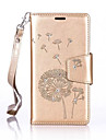Dandelions Diamond Flip Leather Cases Cover For Samsung A Series Strap Wallet Phone Bags