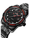 NAVIFORCE Men\'s Military Watch Fashion Watch Wrist watch Calendar Water Resistant / Water Proof Quartz Japanese Quartz Stainless Steel