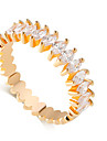 Классические кольца Имитация Алмазный Сплав Свисающие Мода Серебряный Золотой Бижутерия Свадьба 1шт