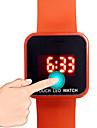 Men\'s Women\'s Kids\' Unisex Sport Watch Fashion Watch Digital Watch LED Noctilucent Digital Rubber Band Casual Black White Blue Red Green