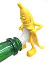 1Pcs банана бутылки пробку красное вино пробка бутылки пробка свадьба интересные подарки панели инструментов