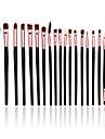 Наборы кистей Синтетические волосы Для профессионалов Закрытая чашечка Дерево Лицо