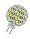 20x branco quente g4 24 LED SMD de casa jardim barco marinho lampadas spot light DC 12V-nos