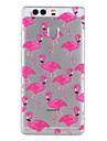 Capa traseira Estampa Azulejo TPU Macio Case Capa Para Huawei Huawei P9 / Huawei P9 Lite