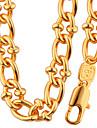 Набор украшений Ожерелье / Браслет Бижутерия Мода Круглый Геометрической формы Золотой Ожерелья ДляСвадьба Для вечеринок Halloween