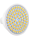 7W GU5.3(MR16) Точечное LED освещение MR16 72 SMD 2835 600-700 lm Тёплый белый / Холодный белый Декоративная 9-30 V 1 шт.