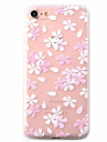 Para Estampada Capinha Capa Traseira Capinha Flor Macia TPU Apple iPhone 7 Plus / iPhone 7 / iPhone 6s Plus/6 Plus / iPhone 6s/6