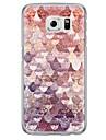 Для Samsung Galaxy S7 Edge Ультратонкий / Полупрозрачный Кейс для Задняя крышка Кейс для Геометрический рисунок Мягкий TPU SamsungS7 edge