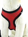 Dog Harness Adjustable/Retractable / Breathable Solid Red / Green / Blue Nylon / Mesh