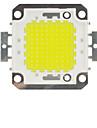 100w 6000k 10000lm привело холодный белый чип холодный белый лампы высокой мощности энергосберегающая лампа чип (DC 30-33v)