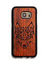Natural Wood Timberwolves Forest Wolf Totem Phone Back Cover Samsung Case for Samsung S7 egde/S7