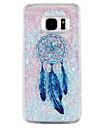Para Samsung Galaxy S7 Edge Liquido Flutuante Capinha Capa Traseira Capinha Filtro dos Sonhos Rigida PC SamsungS7 edge / S7 / S6 edge /