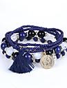 Homme Femme Bracelets de rive Bracelet Mode Perle Multicouches Bijoux de Luxe Acrylique Resine Imitation Diamant Bijoux Pour Mariage