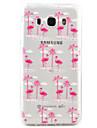 Flamingo Pattern TPU Environmental Protection Material Phone Case for Samsung Galaxy J7 (2016) J5 (2016) J3  J3 (2016)