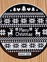 kerstmis ontwerp round RVS image hehe60 serie nail art nagel platen