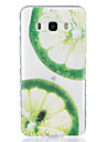 Lemon Pattern Tpu Material Highly Transparent Phone Case For Samsung Galaxy G530 J3 PRO j1 J3 J5 J7 (2016)
