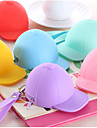 gorra de beisbol monedero colorido de silicona