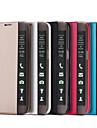 для Samsung Galaxy s7 вид края s7 кейс Smart Touch окно искусственная кожа флип крышка s6 края плюс s6 s5