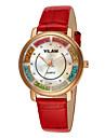 VILAM® Women\'s Fashion Leather Strap watch Imitation Diamond band Casual Famous waterproof diamond quartz wrist watches