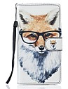 Para samsung galaxy s7 edge s7 bolsa fox pu leather wallet s5 s6 s7