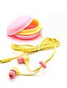 3.5mm qualité casque cadeau d'anniversaire macaron écouteurs casque