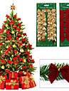12 ordinateur personnel noeud papillon arbre de Noel decoration  decoration de jardin de mariage de noel