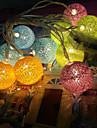 аккумуляторной батареи огни Таиланда ватным тампоном огни серия цвет шарика 20 цоколем 3.5meters