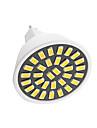GU5.3(MR16) Точечное LED освещение G45 32 SMD 5733 400-450 lm Тёплый белый Холодный белый Декоративная AC220 V 1 шт.