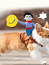 Dog Costume Multicolor Dog Clothes Summer / Spring/Fall Cartoon Cute / Cosplay / Cowboy