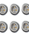 6W GU5.3(MR16) LED Spot Lampen MR16 3 Hochleistungs - LED 560 lm Warmes Weiss / Kuehles Weiss V 6 Stueck