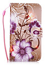 For Samsung Galaxy S7 Edge S7 S6 Edge S6 S5 S4 S3 Flower Pattern PU Leather Full Body Case with Stand and Card Slot