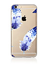 Feathers Pattern TPU Soft Case Cover for Apple iPhone 7 7 Plus iPhone 6 6 Plus iPhone 5 SE 5C iPhone 4