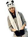 Kigurumi Pajamas Panda Hat Festival/Holiday Animal Sleepwear Halloween Patchwork Faux Fur Polyester Hats For UnisexHalloween Carnival New