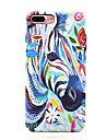 For iPhone 7 7 Plus Smooth Feel Glow in the Dark Zebra Pattern Case Back Cover Case Animal Hard PC for iPhone 6s 6 Plus SE 5S 5