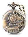 Steam Motor Car Alloy Analog Quartz Pocket Watch (Bronze) Cool Watch Unique Watch Fashion Watch