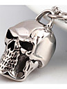 Men\'s Pendant Necklaces Jewelry Skull / Skeleton Titanium Steel Fashion Personalized Punk Jewelry For Wedding