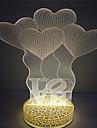 лучший подарок для детей любят дизайн 3D-эффект водить ночи свет