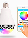 Bluetooth Wireless Stereo Mobile Phone Remote Control APP Colorful Light Bulb Bulb Lamp Intelligent Music