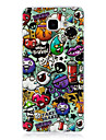 For Samsung Galaxy  A3(2016) Cover Case Glow in The Dark IMD Pattern Case Back Cartoon animal Soft TPU for  Samsung A5(2016)
