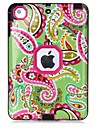 Pattern Colour Printing Water/Dirt/Shock Proof Waterproof Three in One IMD Cover Case for iPad mini 1/2/3