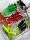 21 pcs Soft Bait Fishing Lures Worms Grub g/Ounce mm inch,Soft Plastic Sea Fishing Freshwater Fishing