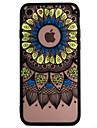 Para Capinha iPhone 7 Capinha iPhone 6 Capinha iPhone 5 Case Tampa Com Relevo Capa Traseira Capinha Lace Impressao Rigida PC para Apple